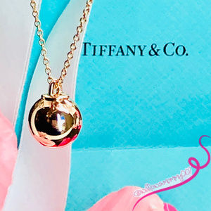 NWOT Tiffany HardWear Rose Gold 12.75mm Ball PDT